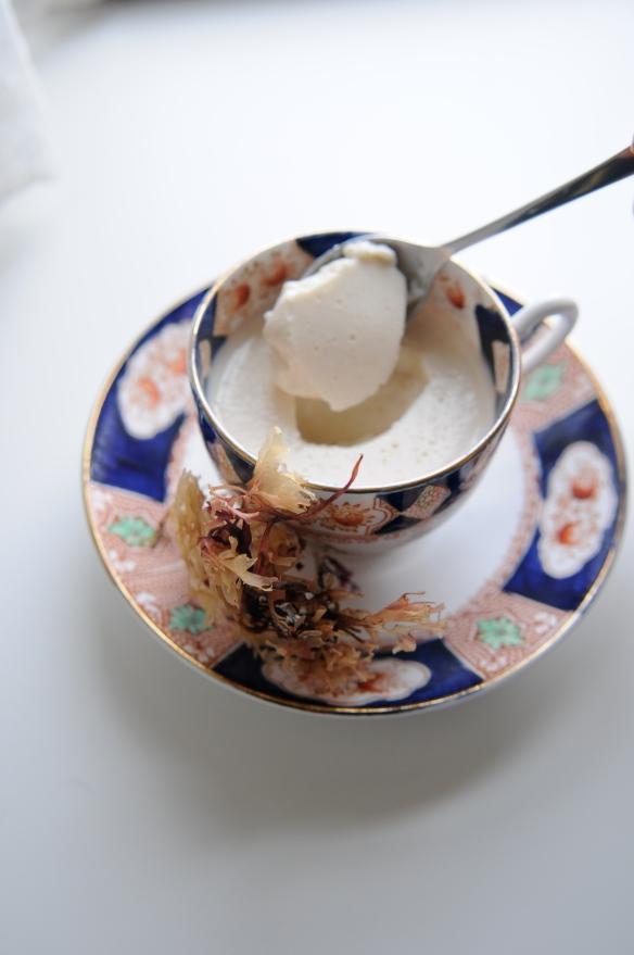 Carrageen Moss pudding