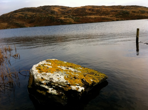 Farranamanagh Lake from the little stone jetty