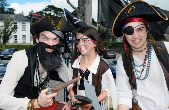 Far from the Caribbean these are the pirates of Bantry Bay.
