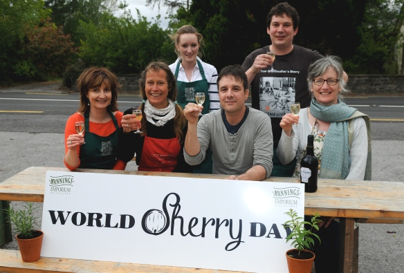 Looking forward to World Sherry Day 2014.